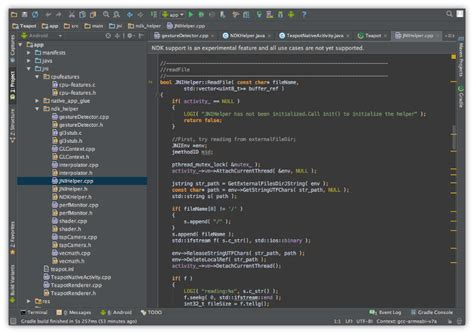 android studio with android ndk preview support available android tools project site - Ndk Android Studio