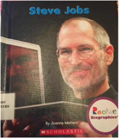steve jobs biography for students category literary analysis my teaching journey