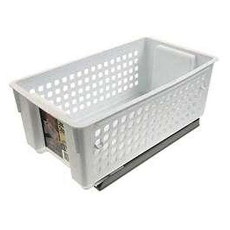 Rubbermaid Pantry Organizer by Slide Out Storage Basket Kitchen Pantry Sliding Cabinet