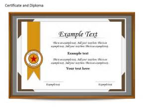 certificate template powerpoint template design