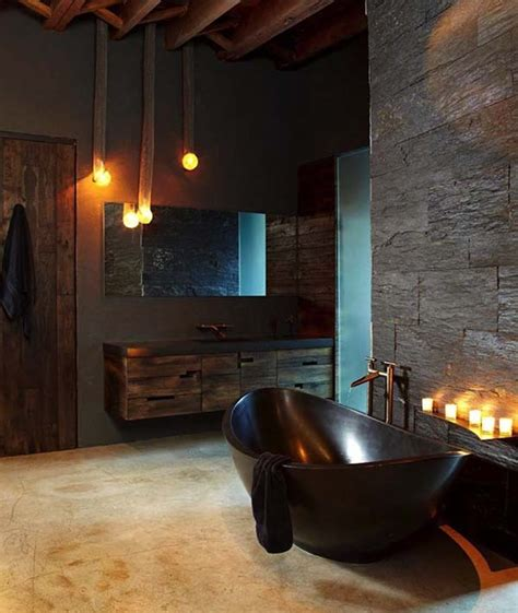 dark bathrooms design 44 absolutely stunning dark and moody bathrooms