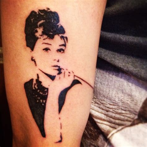 audrey hepburn tattoo tattoos pinterest
