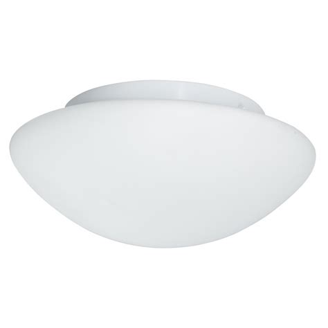 Bathroom Dome Light Opal Dome Large Flush Bathroom Ceiling Light