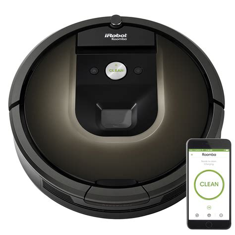 irobot vaccum shop irobot roomba 980 robotic vacuum at lowes