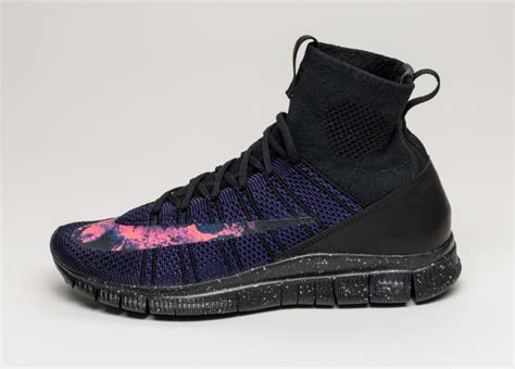 Nike Free Flyknit Mercurial these lava nike flyknits are for cristiano ronaldo sole collector