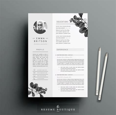 Resume Designs Templates by Best 25 Resume Templates Ideas On Resume