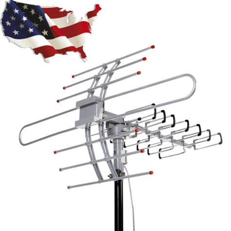 hdtv p outdoor amplified antenna directiona digital hd