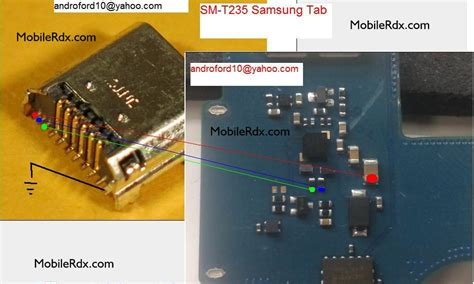 Samsung Tab A 2016 T235 samsung galaxy tab 4 t235 charging ways solution jumper