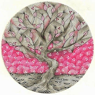 zentangle pattern yuma 86 best images about tangled trees and leaves for