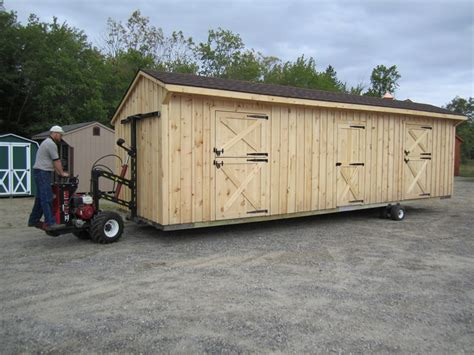moving a large wooden shed preparing your gravel base for a storage shed