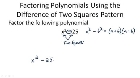 determine the pattern and name of the metrical foot used factorization using difference of squares ck 12 foundation