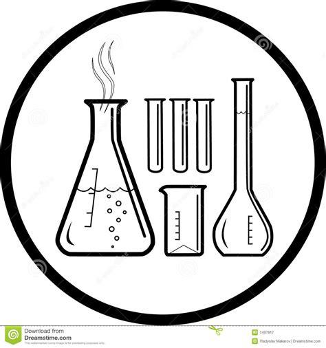 imagenes quimica blanco y negro icono qu 237 mico de los tubos de prueba del vector fotograf 237 a
