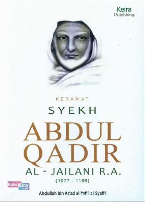 bukukita keramat syekh abdul qadir al jailani r a