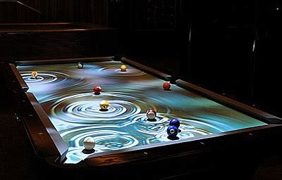 Water Pool Table corky presents for someone renovating interior design