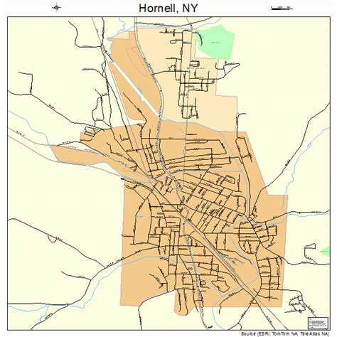 Number Search Ny Related Keywords Suggestions For Hornell Ny Map