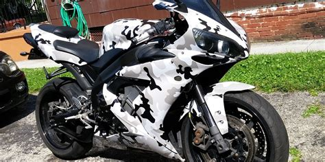 Camouflage Folie Scooter by Motorcycle Wrap Kits Motorbike Dirtbike Moped