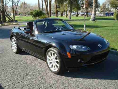 old car owners manuals 2006 mazda mx 5 electronic throttle control find used 2006 mazda mx 5 mx5 miata black touring convertible phoenix arizona no reserve in