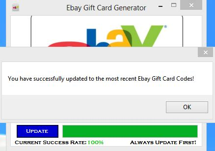 Gift Card Generator No Survey - ebay gift card generator no survey 2016 free download