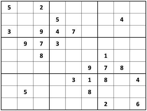 printable sudoku crossword puzzles printable sudoku