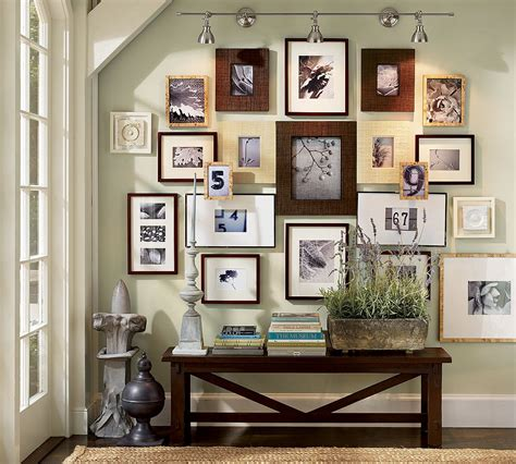 picture wall ideas pottery barn well i the look you get when you take different
