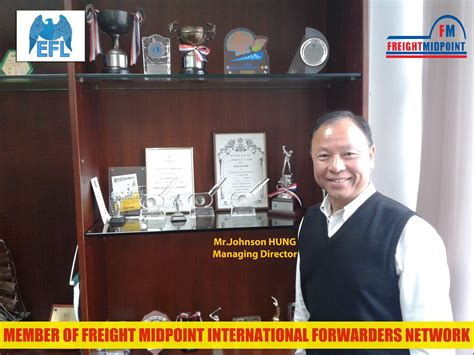 freight midpoint international forwarders network fm chairman site visit eagle freight