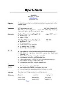exles of resumes registrar resume sle it