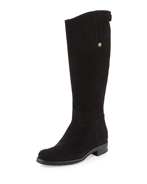 gravati waterproof suede boot in brown lyst