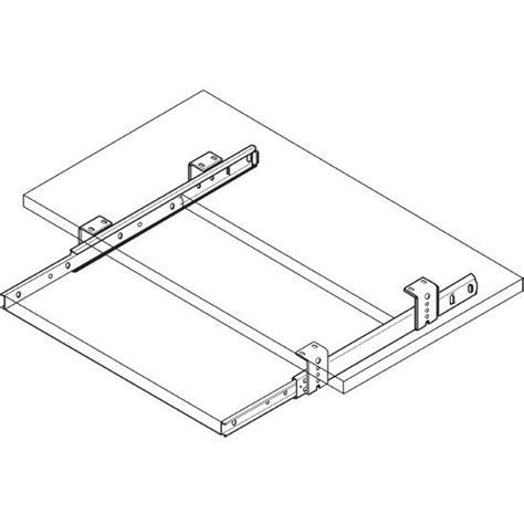 Adjusting Drawer Slides by Accuride 3 4 Extension Side Bottom Mount Drawer Slide With