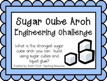 sugar cube arches engineering challenge project great stem activity stem ideas projects