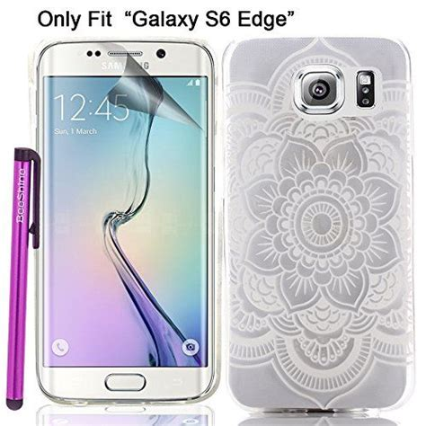 Samsung S6 Edge Soft Flower Rubber Casing Elegan 14 best images about samsung s6 covers on white flowers samsung and country