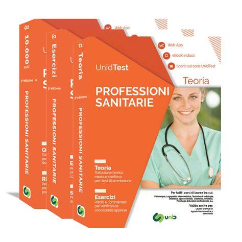 libri test di professioni sanitarie box di preparazione