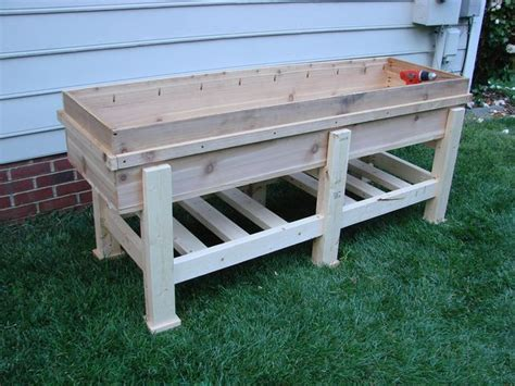 High Planter Box by Waist High Planter Box Gardens Planters And Elevated