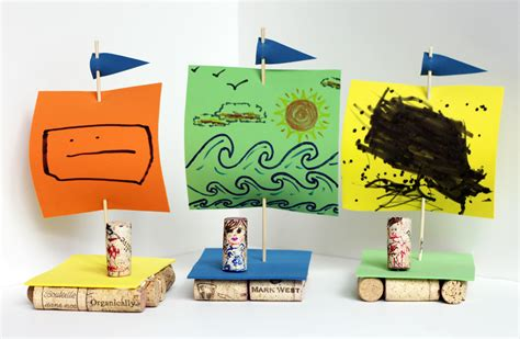 wine cork boat craft 21 amazing homemade toys you can make for under 163 1