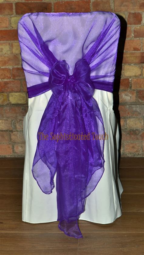 chair covers and bows 17 best images about purple bows chair covers on