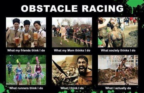 mud run meme ocr humor this is sparta spartan race