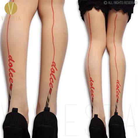stocking tattoo indonesia popular seamed stockings tattoo buy cheap seamed stockings
