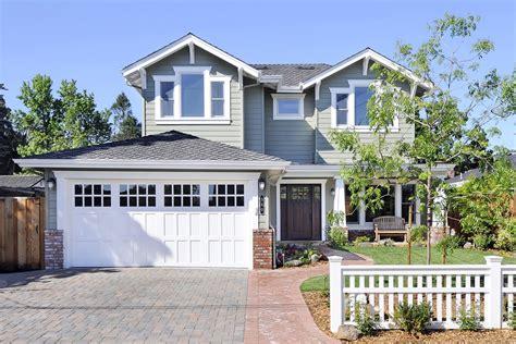 Home Exterior Design Garage Doors Exterior Home Design Styles | garage door trim ideas exterior craftsman with brick