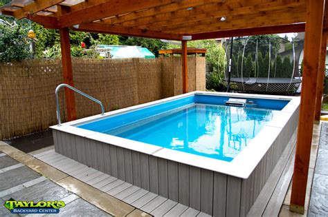 Backyard Exercise Pools Exercise Pools Contemporary Pool Vancouver By