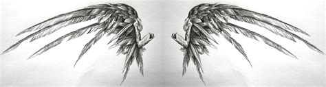 another fallen angel wings by swarzeztier on deviantart