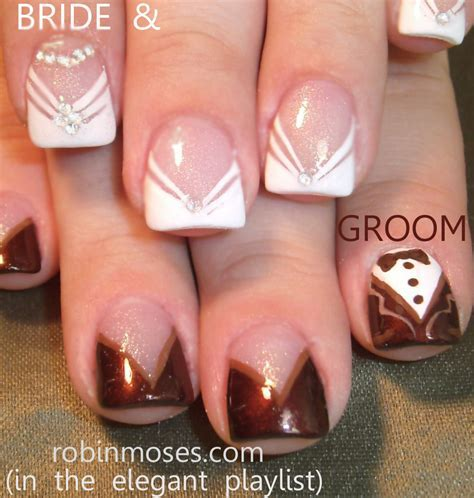 Robin Moses Nail Art: The best wedding nails in the world