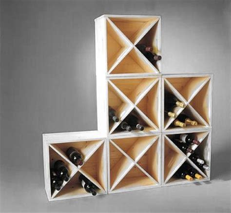 Stack And Rack Storage Cubes by Stacking Cube Wine Rack Wine Racks Wine Storage Home