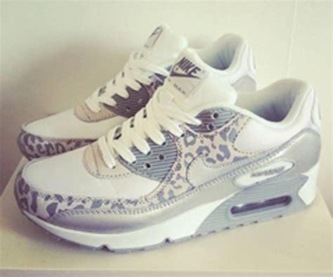 grey cheetah nike running shoes shoes pattern white grey nike air max leopard print