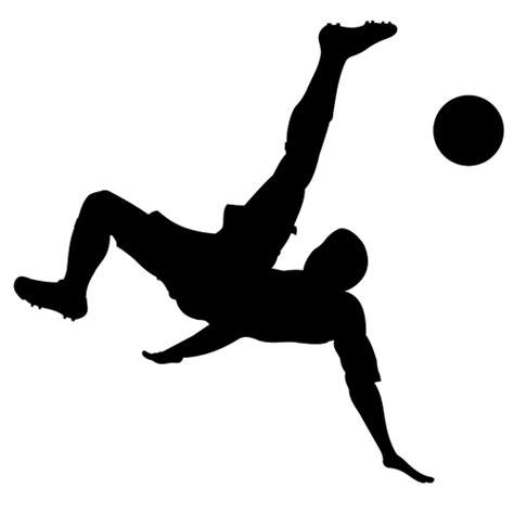 wallpaper animasi futsal hombre jugando f 250 tbol silueta vector de la imagen