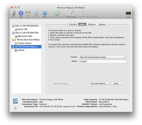 format external hard drive as mac os extended journaled how to encrypt an external hard drive in mac os x lion