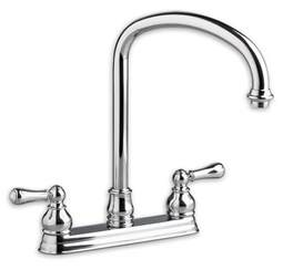american kitchen faucet american standard 4771 732 hton 2 handle high arc kitchen faucet