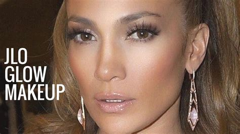 what foundation does jennifer lopez use jennifer lopez and jlo glow makeup jennifer lopez makeup tutorial bronzy