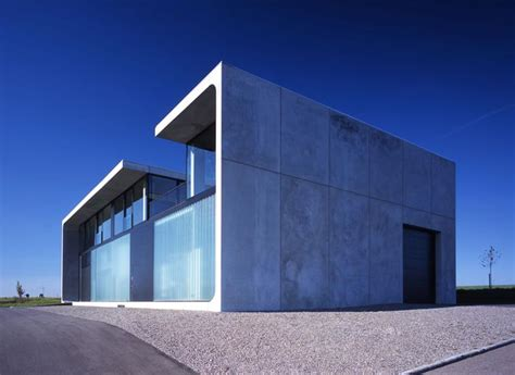 bunker house made of prefab concrete blocks haus bold