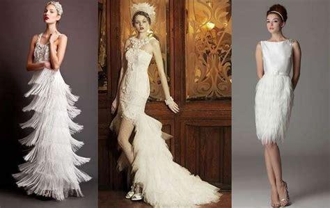 Imagenes De Vestidos De Novia Estilo Años 20   vestidos de novia a 241 os 20 los m 225 s fashion fotos ella hoy