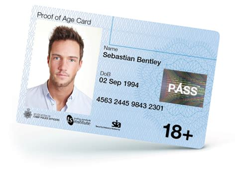 age card template new pass card the national proof of age standards scheme