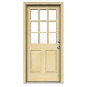 door 32 in x 80 in door collection 9 lite